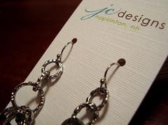 jc designs - earring cards