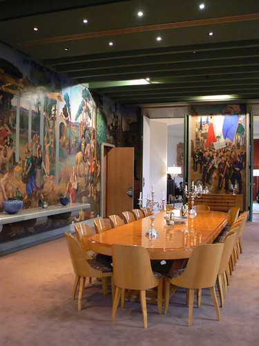 Dining Room, French Embassy, Ottawa