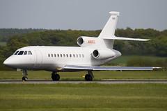 N85CL - 167 - Private - Dassault Falcon 900EX - Luton - 090507 - Steven Gray - IMG_2308