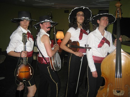 The first mariachi bluegrass band. I think itll catch on.