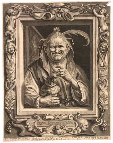 The Elderly Fool and His Cat (c. 1660)