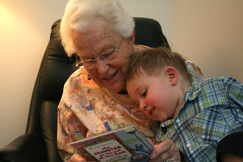 storytime with Great Grandmom D.