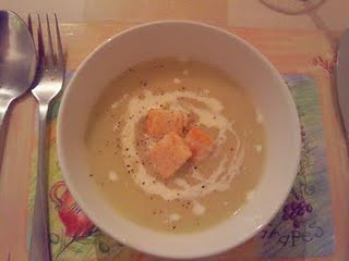 white onion soup - picniked