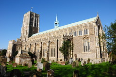 St Edmunds Church On A Fine Day (EJ Images) Tags: uk england slr church suffolk nikon churchyard southwold eastanglia stedmunds nikonslr d90 nikond90 southwoldchurch ejimages