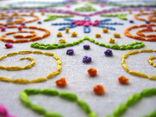 even more french knots