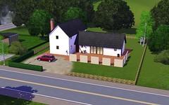 Sim neighbours' house