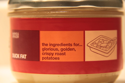 Department Store Duck Fat and ideas on food labeling