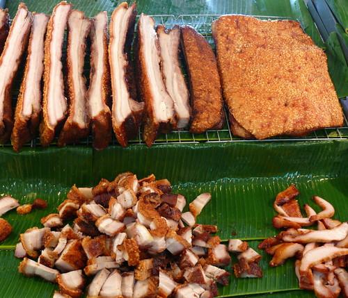 חזיר פריך (מו קרופ): עור, שומן ובשר