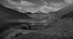 silent valley1bw (mark-cro) Tags: newcastle dam nireland mournes silentvalley