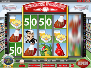 Pigskin Payout slot game online review