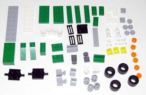 LEGO 2010 Creator 5865 Mini Dumper - Instructions - Parts