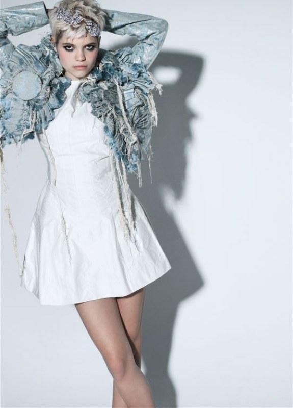 Pixie Geldof in Kay Desmond handmade bolero 1