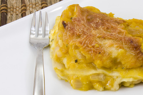 Top Butternut and Navy Bean Lasagna