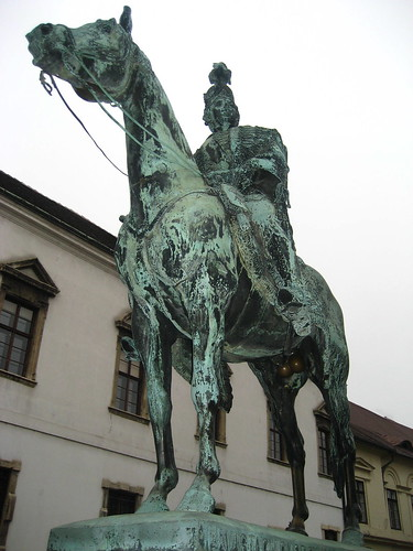 András Hadik Statue at Castle Hill