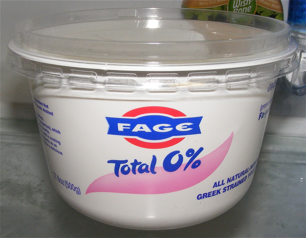 Day 351/365 - fat free Greek yogurt