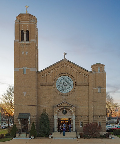 Saint Augustine Roman Catholic Church, in Breese, Illinois, USA