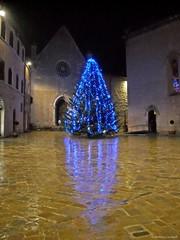 Visso: Natale 2009 (Babj) Tags: mountain christmastree christmaslights montagna marche macerata alberodinatale visso lucinatalizie lucidinatale