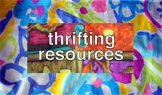 thrifting resources button