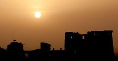 Around Ouarzazate (Warzazat,  ,  ,), Maroc (Morocco) (Loc BROHARD) Tags: maroc morocco  almarib africa maghreb berber westernsahara highatlas grandatlasmountains  hautatlas telouet kasbah elglaoui ounila asifounila achahoud atbenhaddou ouarzazate  warzazat  soussmassadra unesco worldheritagesite stork sun sunset coucher soleil