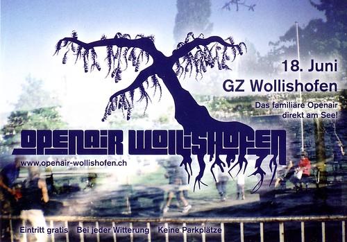 Openair Wollishofen 2011 - Flyer Front - Zürich 18.06.2011 - PUEBLO CRIMINAL