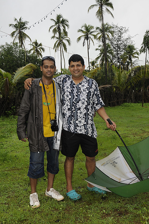 Goa's finest percussion man and Rohan