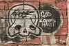 God Loves Haiti (sullivan1985) Tags: aware graffiti tah haiti godloveshaiti skull paint tag brick wall cinderblock red portauprince