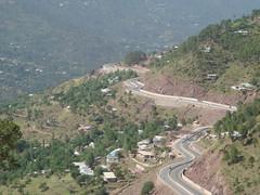 N75 Murree Motorway (tango 48) Tags: road tree pine motorway pinetrees murree murreemotorway greenpakistanislamabadmuree