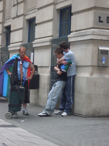 Hug (Zefrog) Tags: uk gay england london march hug anniversary pda spooning ...