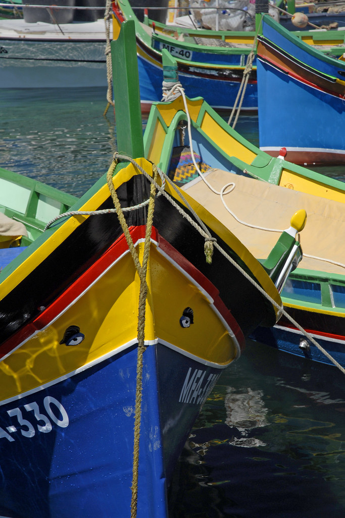 Malta - Gozo - Marsalforn Harbour