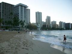 Early morning Waikiki
