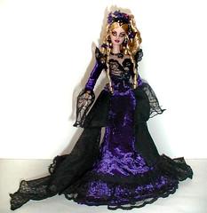 blonde Belladonna barbie (plumaluna07@sbcglobal.net) Tags: ooak gothic barbie