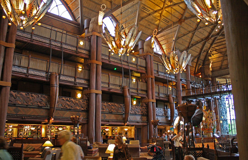 Disney World trip - day 5 - Animal Kingdom Lodge