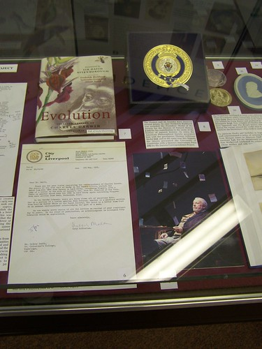 Darwin Correspondence Project display, Whipple Museum, University of Cambridge