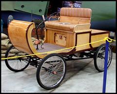 The 2010 Algore Eco Roadster (thegreatlandoni) Tags: wood usa classic car museum america vintage photography wooden automobile colorado photographer technology carriage u