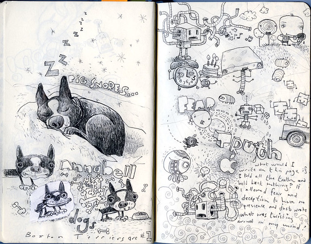Moleskine sketches