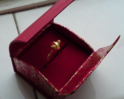 天使蛋藏在珠宝盒里,看上去像猪头