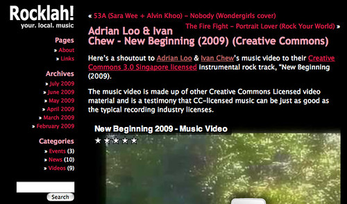 Rocklah! » Blog Archive » Adrian Loo & Ivan Chew - New Beginning (2009) (Creative Commons)