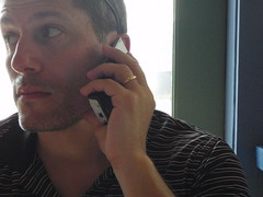 Sometimes Alex was on a phone.. (runawaykitty) Tags: grand caymans