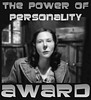 THE POWER OF PERSONALITY AWARD