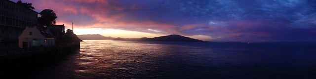 Alcatraz Island Panoramic