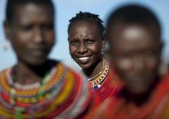 Samburu women - Kenya (Eric Lafforgue) Tags: africa portrait people beads kenya culture tribal tribes bead afrika tradition tribe ethnic samburu kenia tribo afrique ethnology tribu eastafrica rift beadednecklace qunia lafforgue 5257 ethnie  qunia    beadsnecklace kea   froka  a