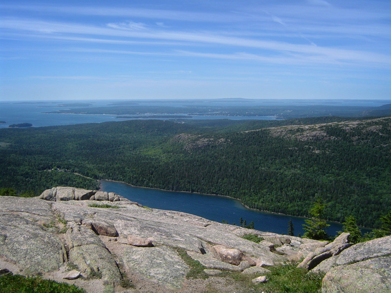View from Pemetic Mountain