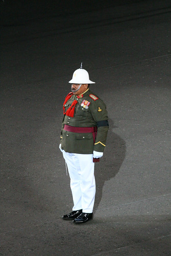 Tongan Conductor , Edinburgh Tattoo 09