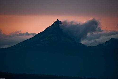 Mt Thielsen sunset