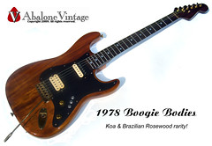 1978 Boogie Bodies guitar. Early Van Halen style with Koa body! (eric_ernest) Tags: seattle original musician music classic beautiful neck star maple 1982 cool model sale amp columbia jackson marshall musical prototype instrument 1981 series 1978 1983 eddievanhalen 1977 1980 strat brass 1979 100watt guitarist recording mahogany schecter vibe koa plexi rosewood paf patent mightymite charvel seymourduncan guitarcollection evh floydrose sandimas randyrhoads guitarcenter guitarsolo preproduction soloist randyrhodes dimarzio frankenstrat vhi vintageguitar edwardvanhalen vintageguitars guitarshows guitarcollections rareguitar guitarphotos boogiebodies edvanhalen guitarcollecting groverjackson boogiebody lynnellsworth vhii linnellsworth randyroads