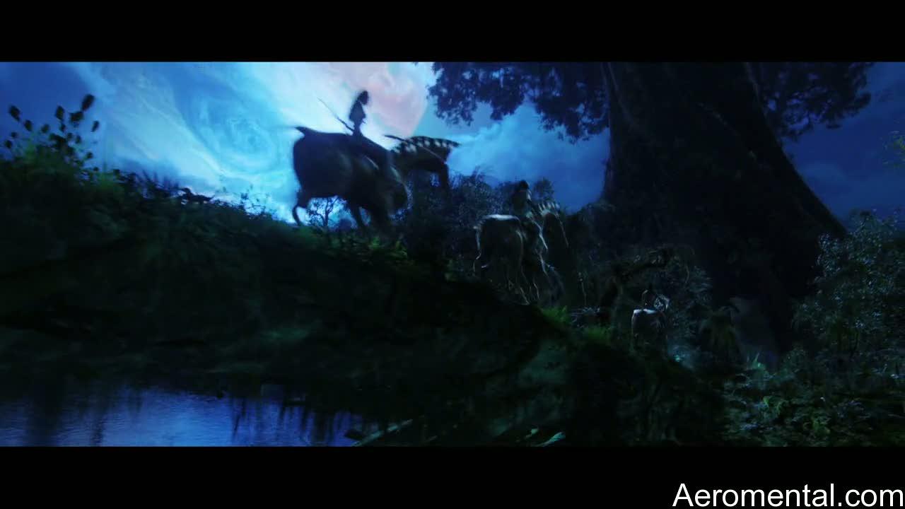 película Avatar caballos navi