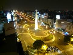Buenos Aires (Fabro - Max) Tags: southamerica argentina night de noche avenida buenosaires view centro tango julio obelisco baires sudamerica nueve panamericanobuenosaires