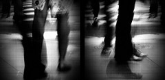As She Walks (D.Munoz-Santos) Tags: life street city nyc newyorkcity shadow people urban blackandwhite bw newyork abstract motion texture love monochrome modern dark grit women diptych experimental emotion artistic god walk empty grunge dream citylife highcontrast surreal belief philosophy monochromatic personality dirty minimal relationship busy illusion reality change strength reach grainy division conceptual filthy fatigue confusion emotive velvetunderground distant searching psychology separation forgiveness dystopia misguided disconnect smallness artinbw dmunozsantos
