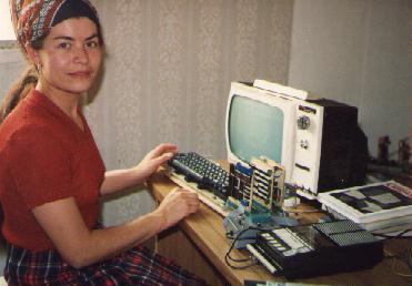 Computador de los 70 de la Familia Toledo