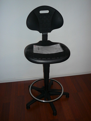 My new chair